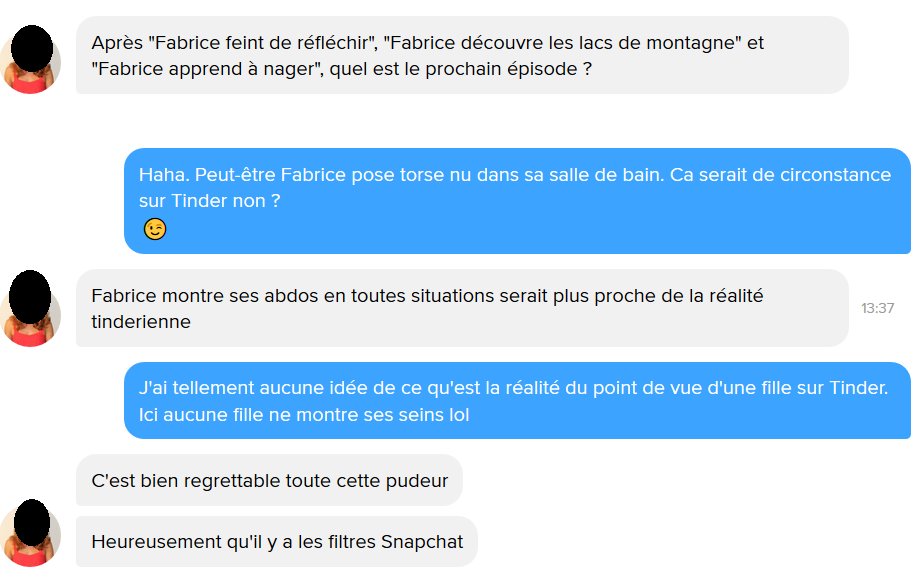 Bon premier message de rencontre Internet