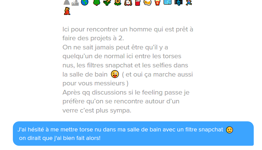 phrase d approche tinder