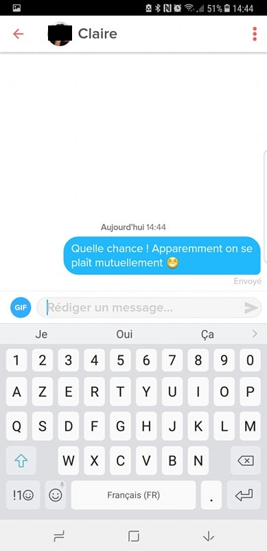 comment commencer discussion tinder